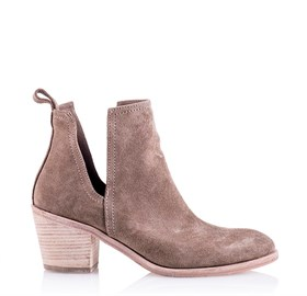 Cut Out Bootie Bej - MESSINA