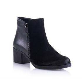 Ankle Bootie Siyah - Vernazza