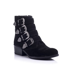 Siyah Ankle bootie - CHERYL